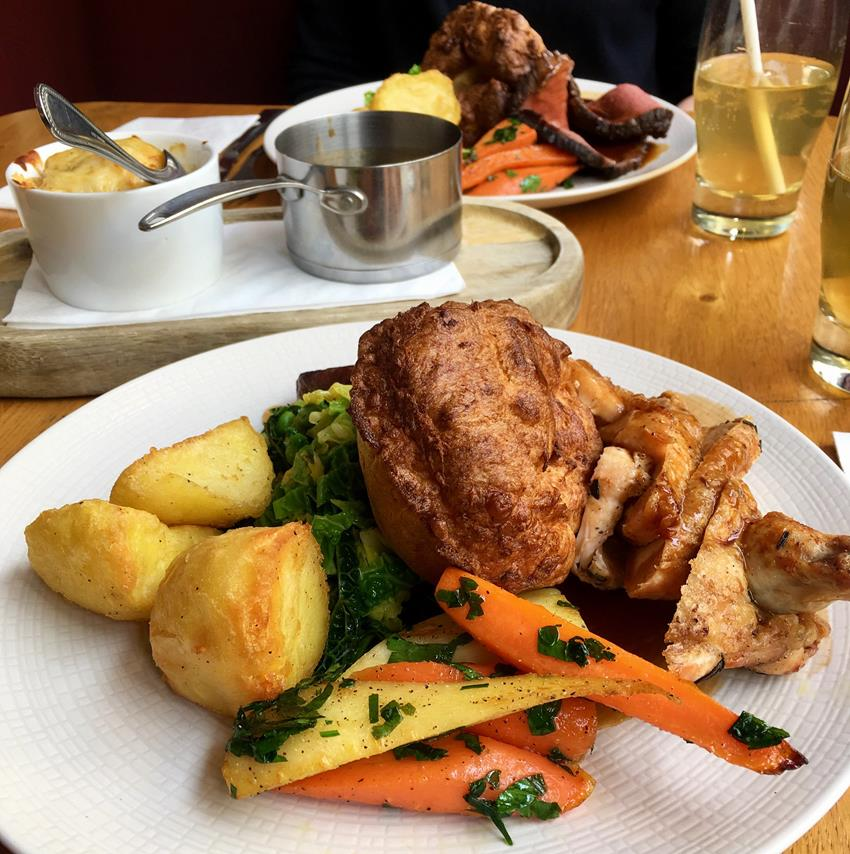 Review: Sunday Lunch at The Roman Baths Kitchen