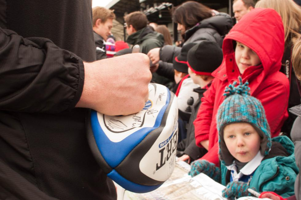 Snapped - Bath Rugby Open Day