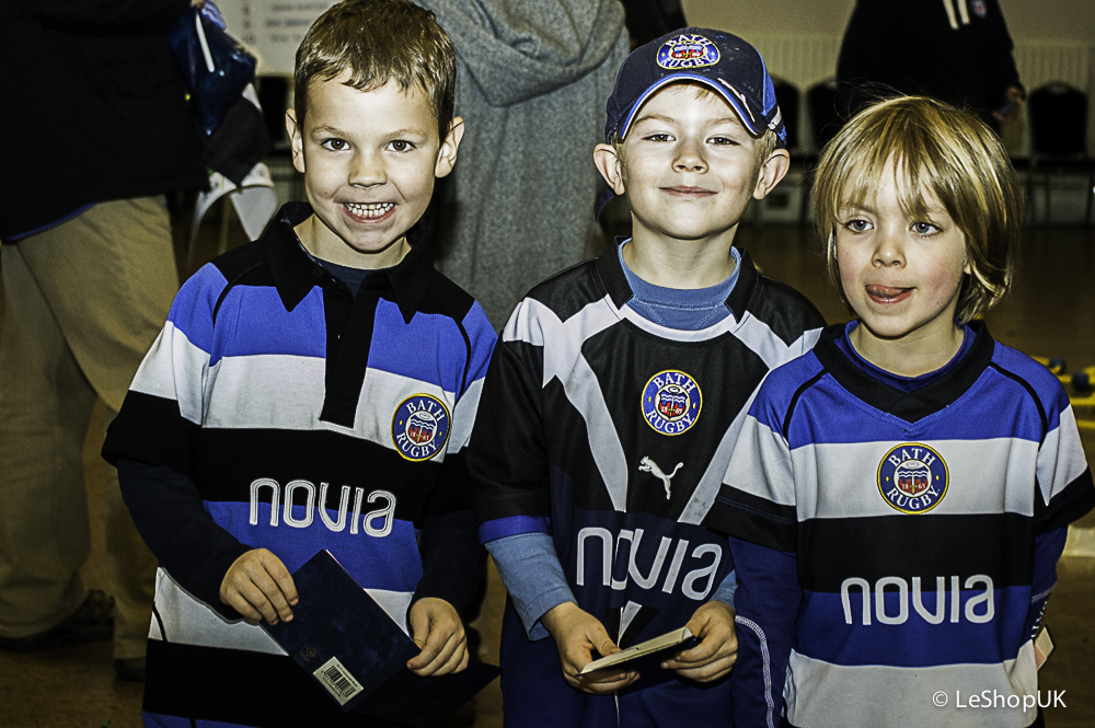 Snapped: Junior Membership Club Party at Cardiff Blues Game
