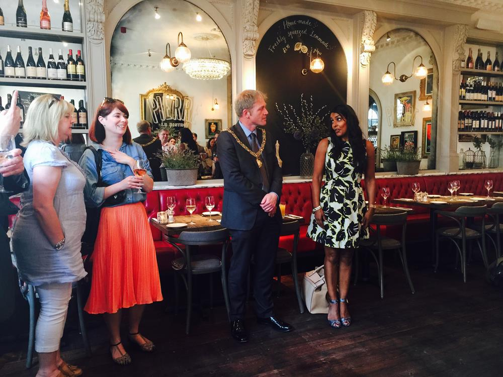 Snapped: Le Bistrot Pierre Launch