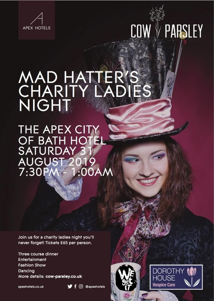 Cow Parsley Charity Mad Hatters Ladies' Night